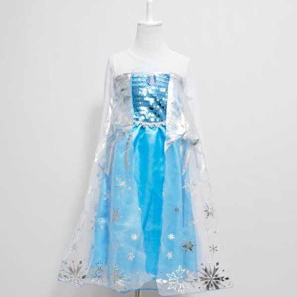 Платье Эльза Холодное сердце серебристое