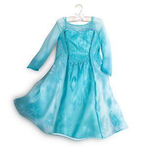 Костюм Эльзы Люкс - Elsa Frozen Дисней Сторе