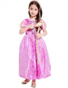 Платье костюм Рапунцель с аксессуарами L - 128 см